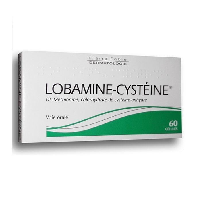 Thuốc điều trị nói đầu Lobamine Cysteine Hộp 60 viên