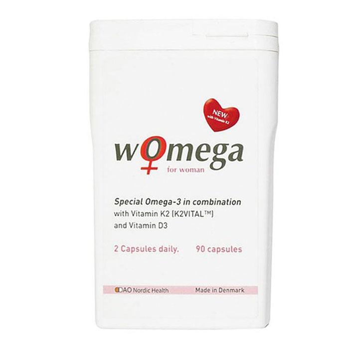 DAO Nordic Health Womega for Women, Hộp 90 viên