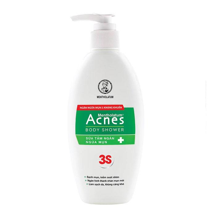 Sữa tắm ngăn ngừa mụn Acnes Body Shower, Chai 180ml