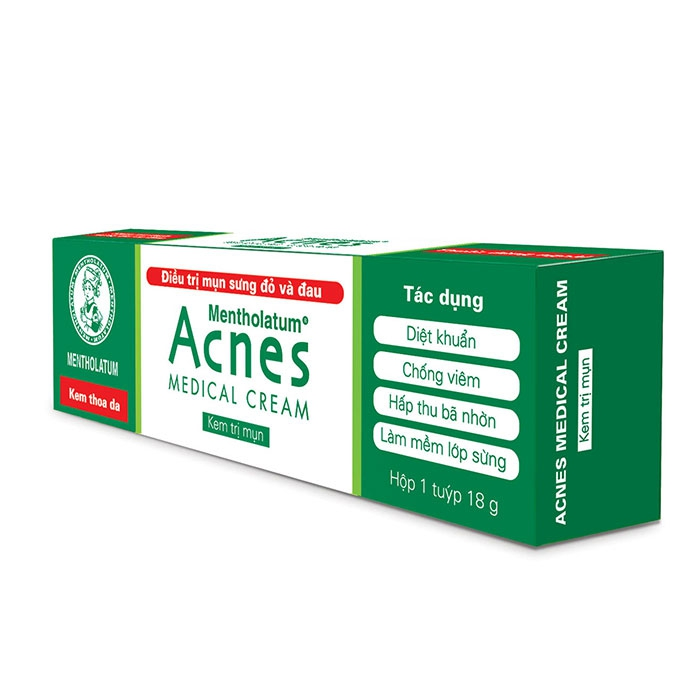 Kem trị mụn Acnes Medical cream, Tuýt 18g