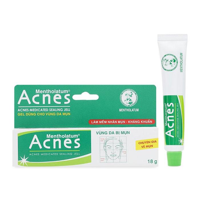 Gel ngừa mụn Acnes Medicated Sealing Jell, Tuýt 18g