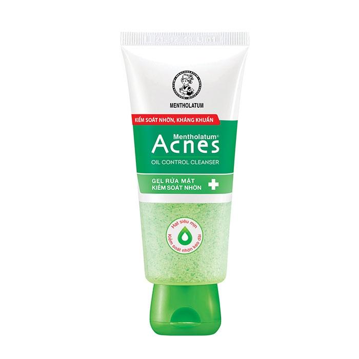 Sữa rửa mặt Acnes oil control Cleaser, Tube 100g