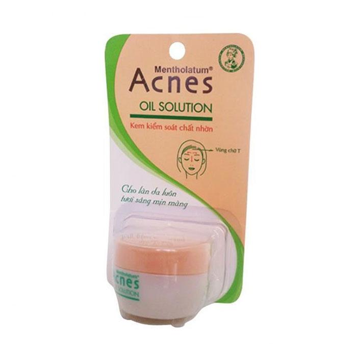 Kem kiểm soát nhờn Acnes New Acnes Oil Solution, Tuýt 30g