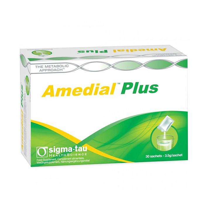 Tpbvsk xương khớp Amedial Plus, Hộp 30 gói
