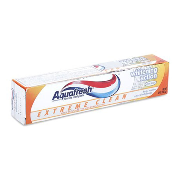 Kem đánh răng Aquafresh Extreme Clean Pure Breath Action 158.7g