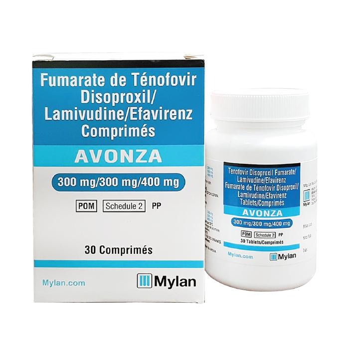 Thuốc Mylan Avonza, Chai 30 viên ( VN3-73-18 )
