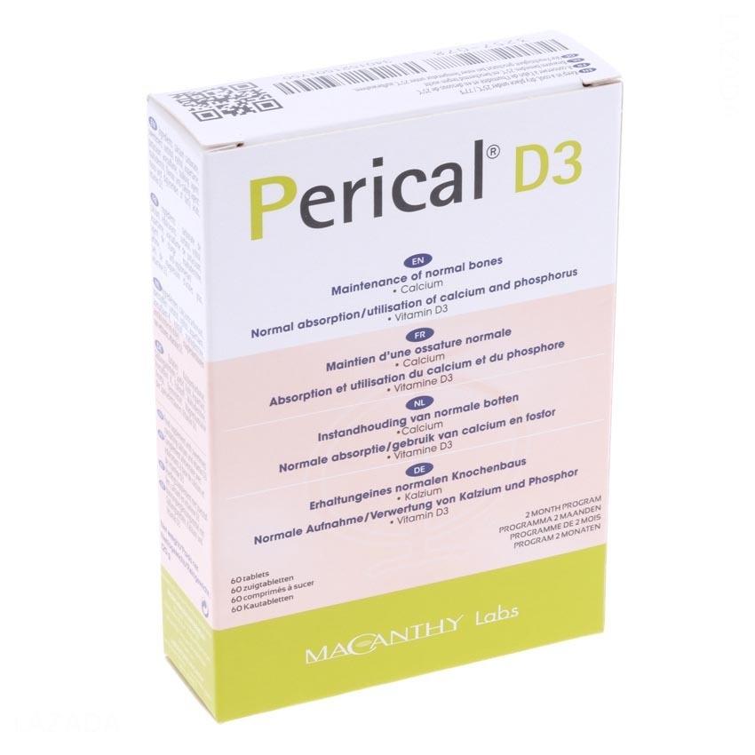 Thực phẩm chức năng Besins Healthcare Perical D3