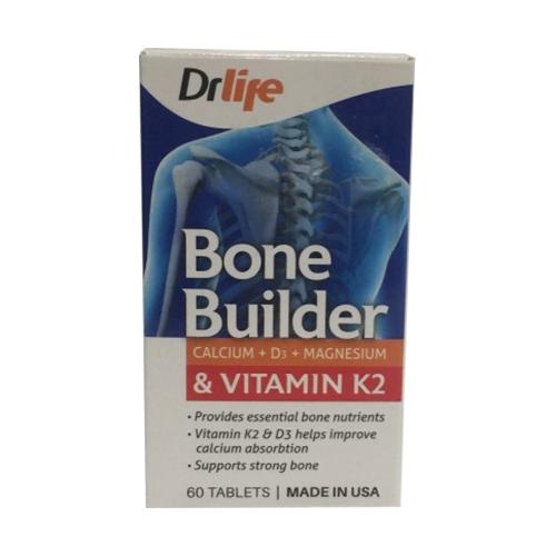 Tpbvsk xương khớp DrLife Bone Builder, Hộp 60 viên