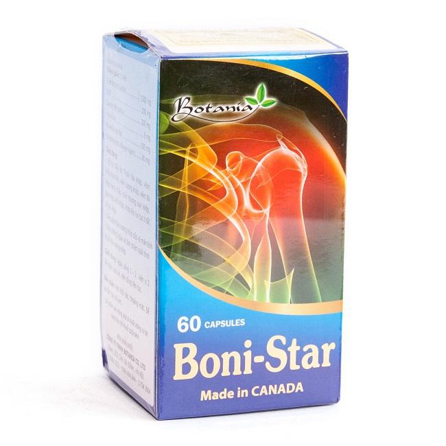 Thực phẩm bảo vệ sức khỏe Botania BoniStar, Hộp 30 viên