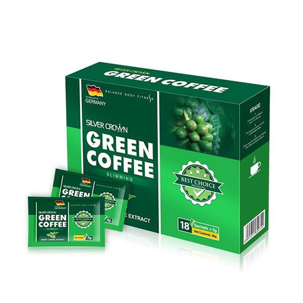 Cà phê giảm cân Silver Crown Green Coffee Slimming