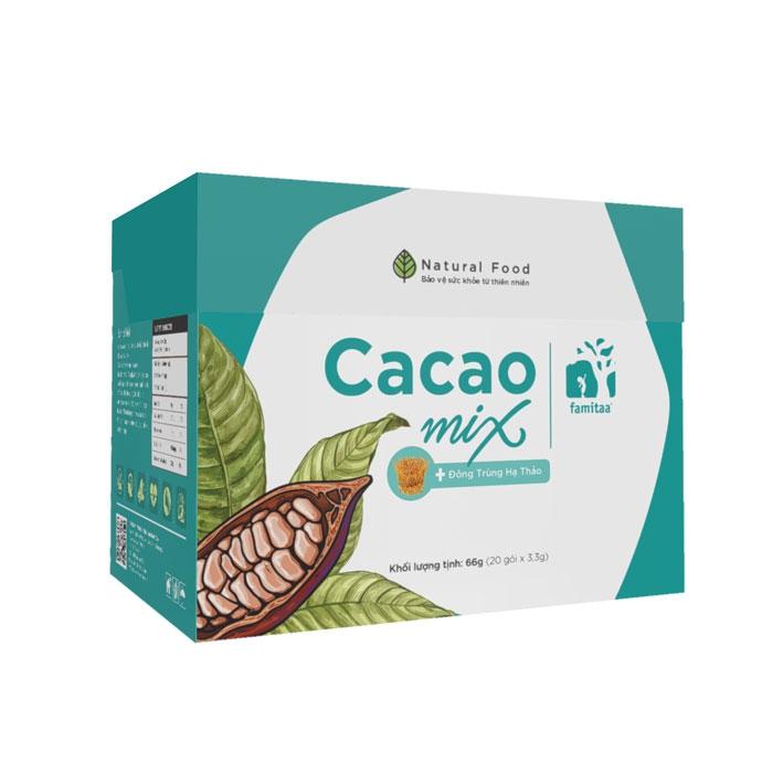 Cacao MIX giúp giải độc, giảm mỡ
