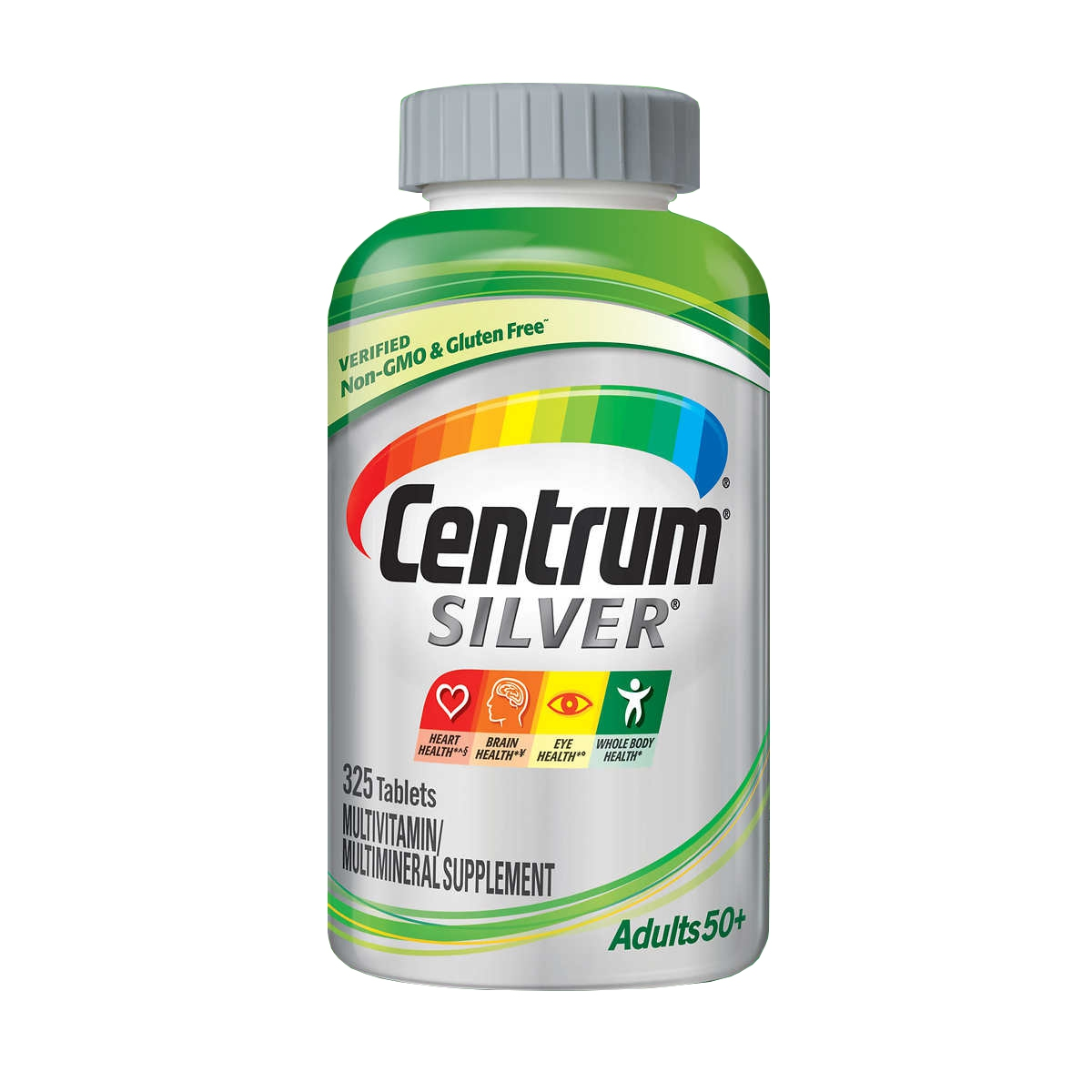 Centrum Silver Adults 50+ Multivitamin | Chai 325 viên