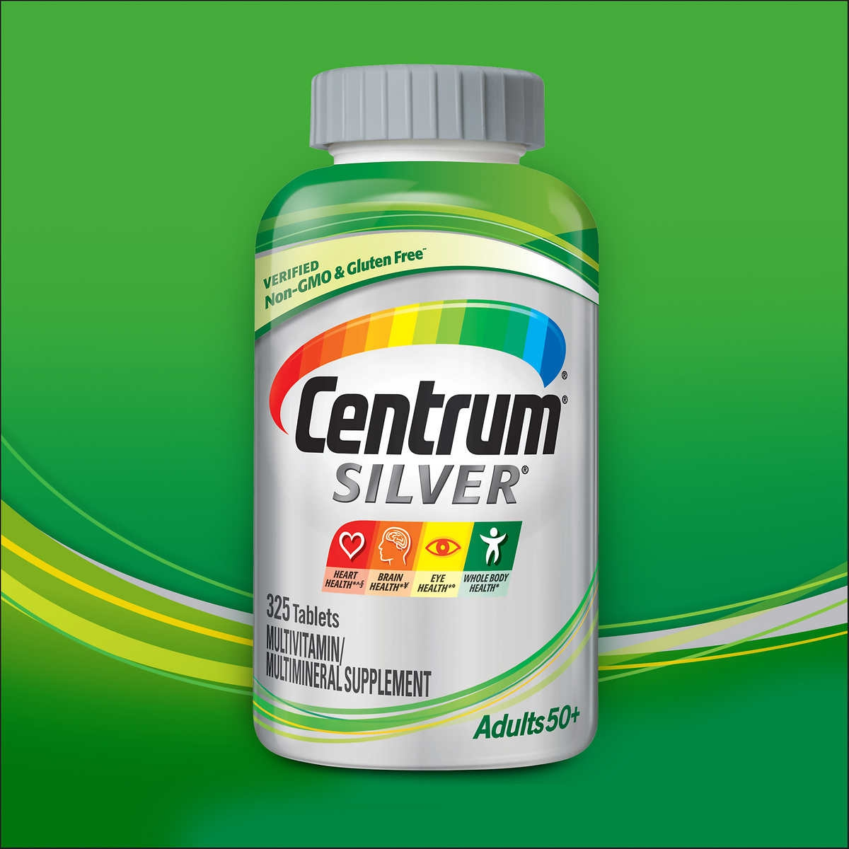 Centrum Silver Adults 50+ | Chai 325 viên