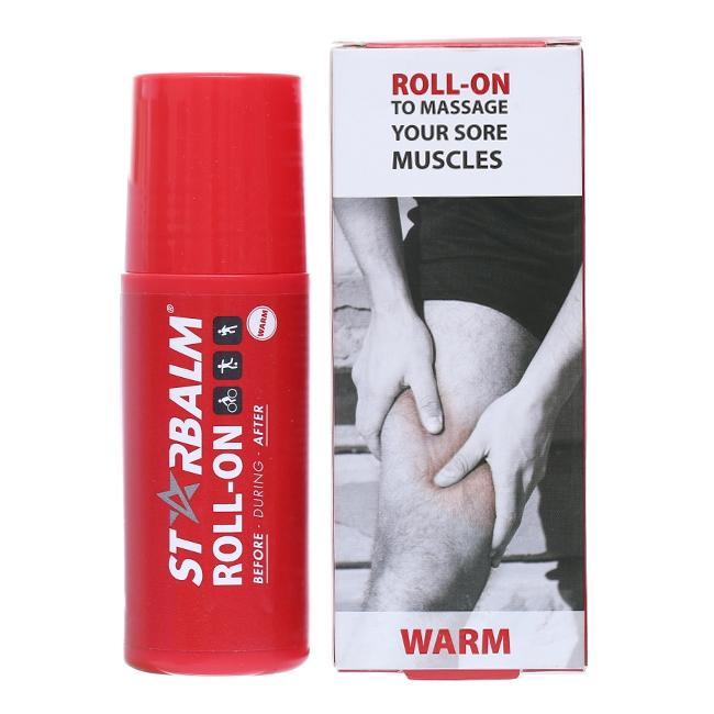 Chai lăn làm nóng Starbalm Roll - On Warm 75ml