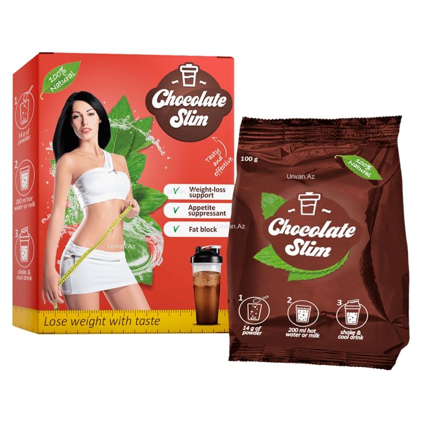 Thức uống giảm cân Chocolate Slim - Hợp chất giảm béo tự nhiên