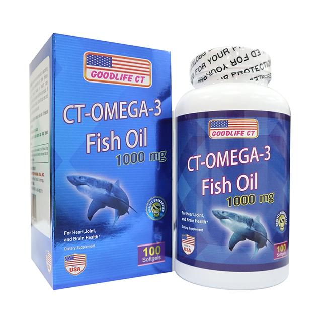 CT - OMEGA - 3 FISH OIL 1000mg, 100 viên