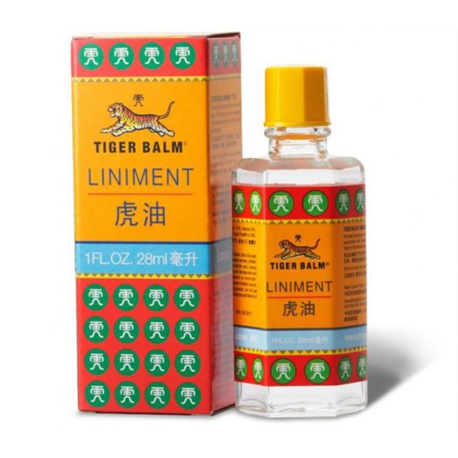 Dầu xoa bóp Tiger Balm Oil 28ml