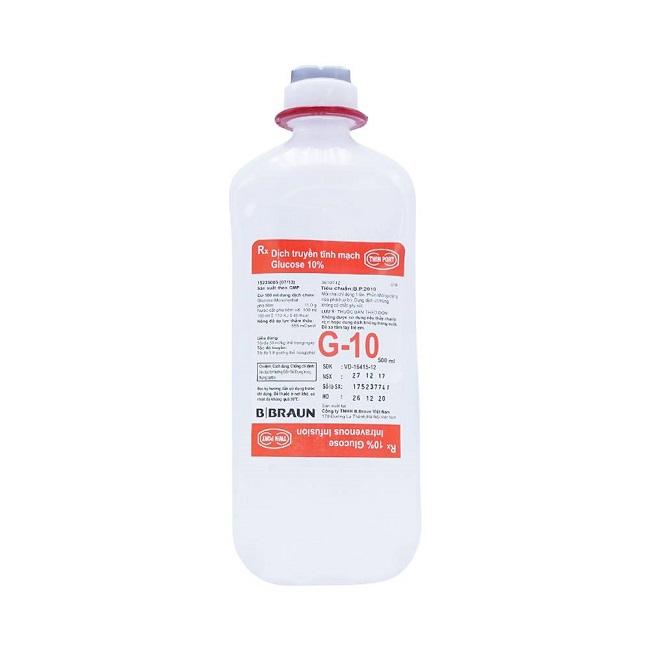 Dịch truyền Glucose 10% 500 ml