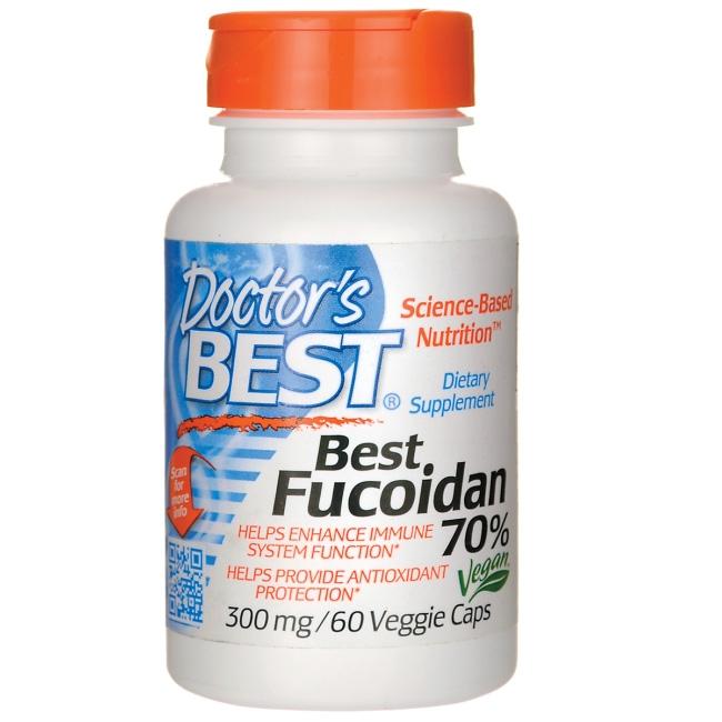 Viên uống Doctor's Best  Best Fucoidan hỗ trợ điều trị ung thư