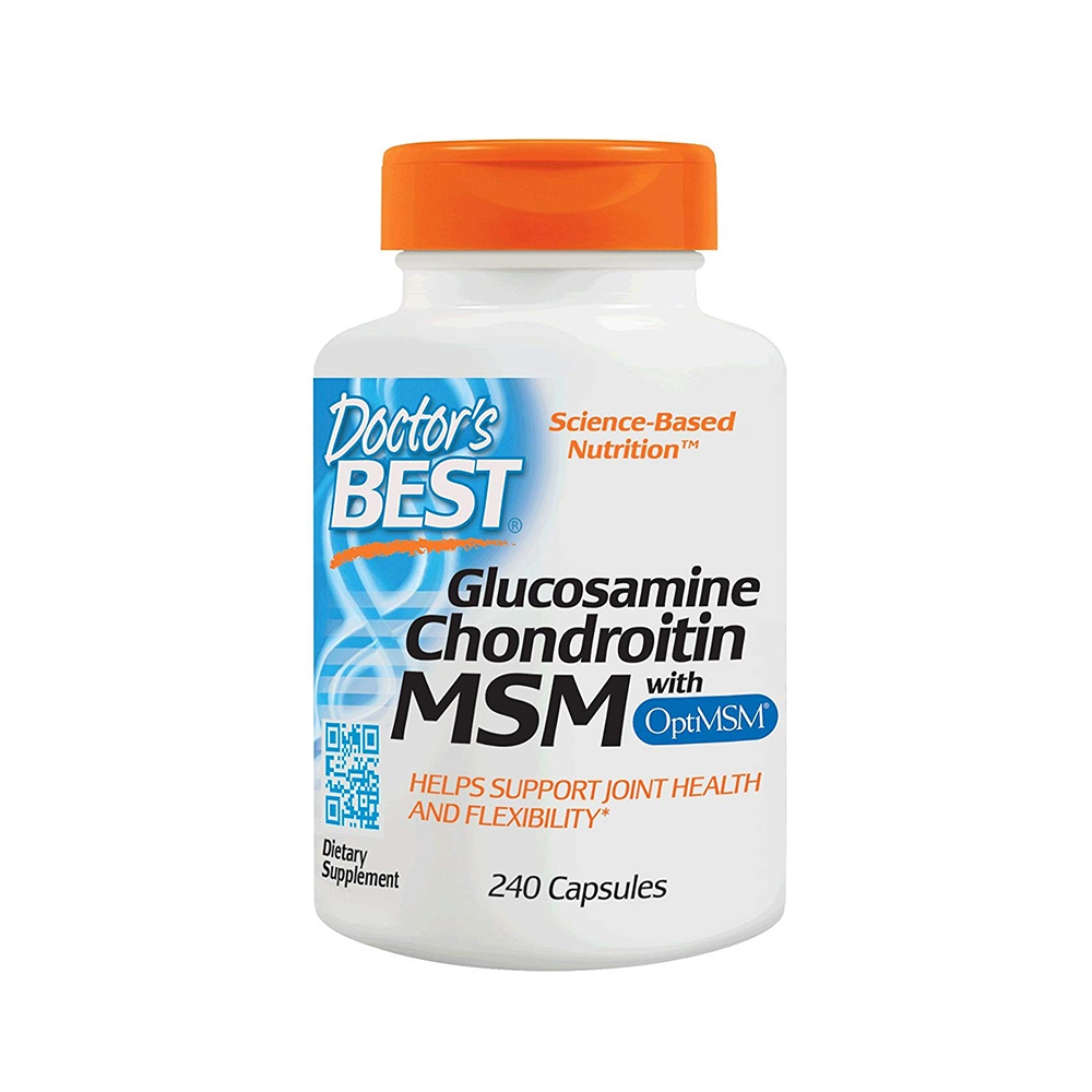 Xương khớp Doctor\'s Best Glucosamine Chondroitin MSM