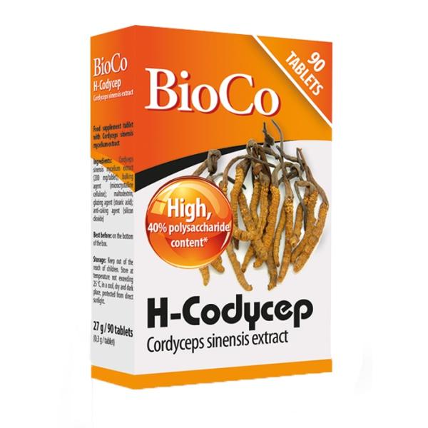 Đông trùng hạ thảo BioCo H-Cordycep, Hộp 90 viên