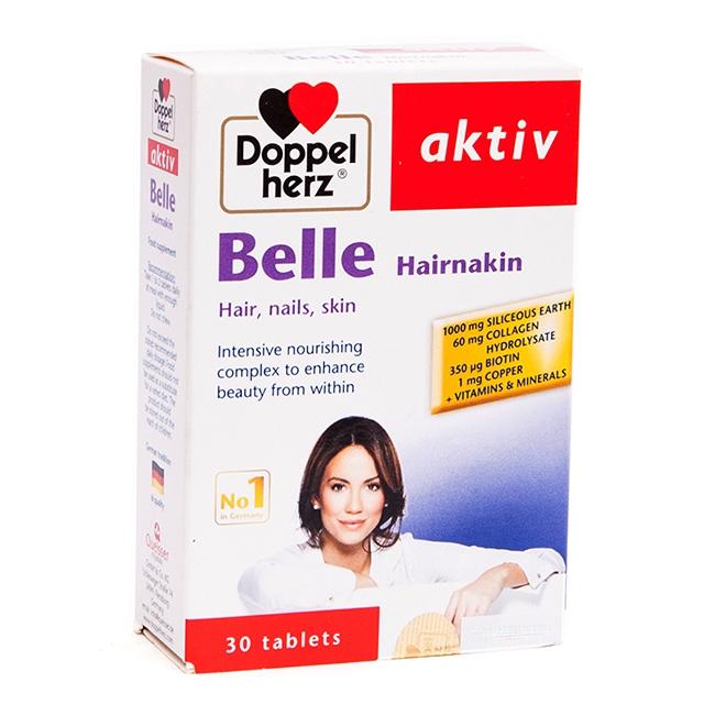 Tpbvsk chăm sóc tóc Doppelherz Belle Hairnakin