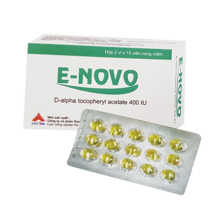 Thuốc VNP E Novo, Hộp 30 viên