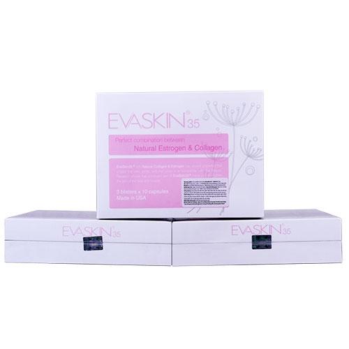 Viên uống EvaSkin 35 giúp cân bằng nội tiết tố nữ sau tuổi 35