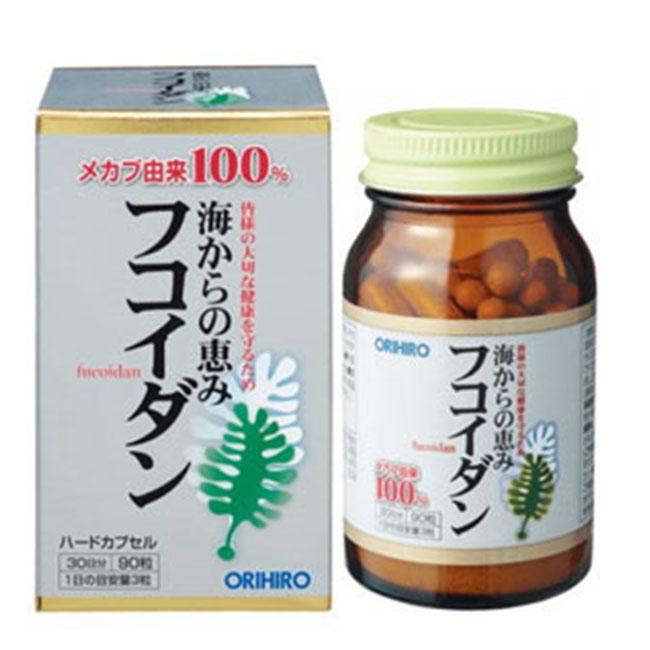 Fucoidan Orihiro Nhật Bản | Chai 90 viên