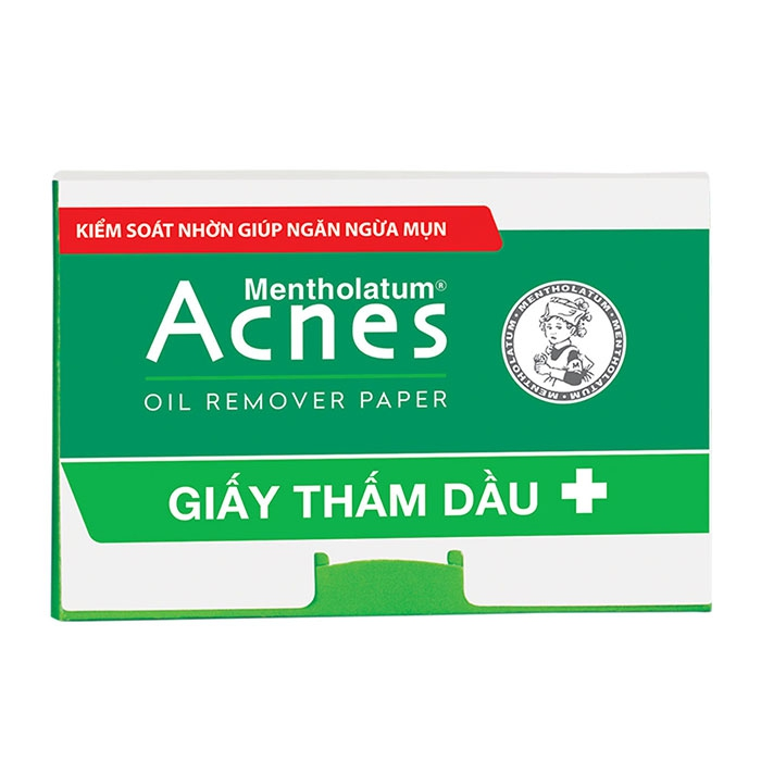 Giấy thấm dầu Acnes Oil Remover Paper, Hộp 100 miếng