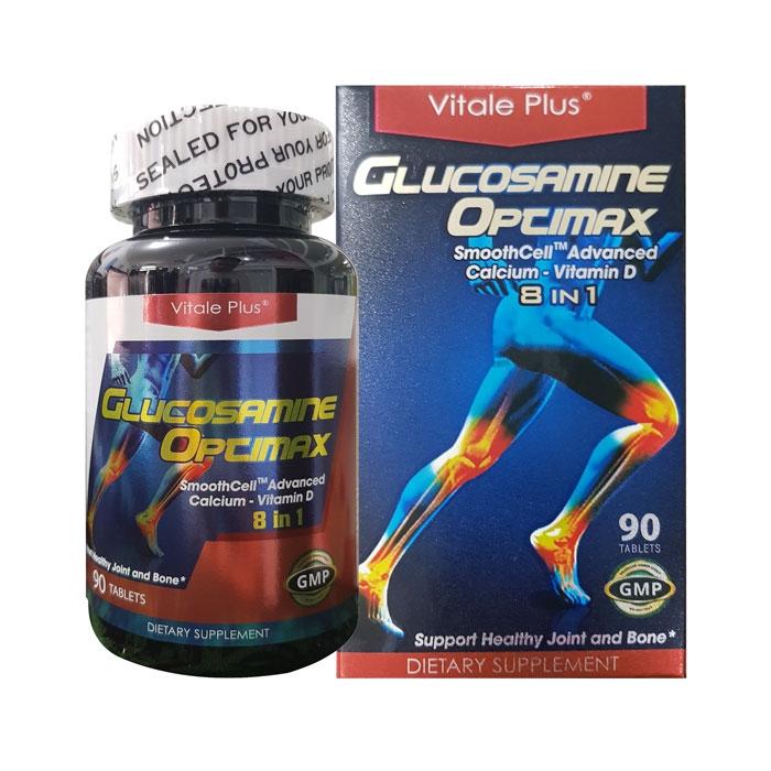 Tpbvsk bổ khớp Vitale Plus Glucosamine Opcimax, Hộp 90 viên