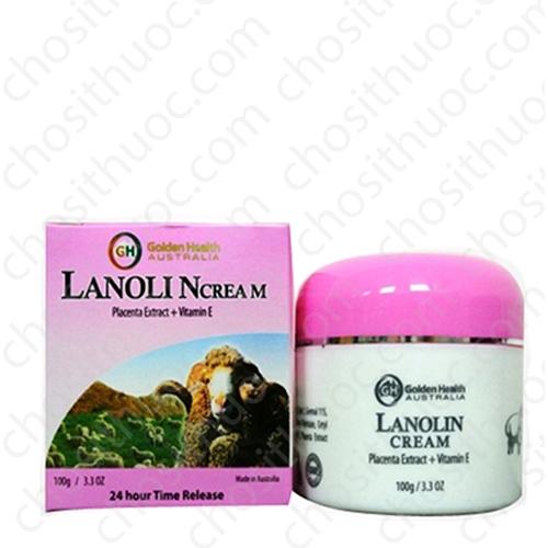 Kem dưỡng da Golden Health Lanolin Cream