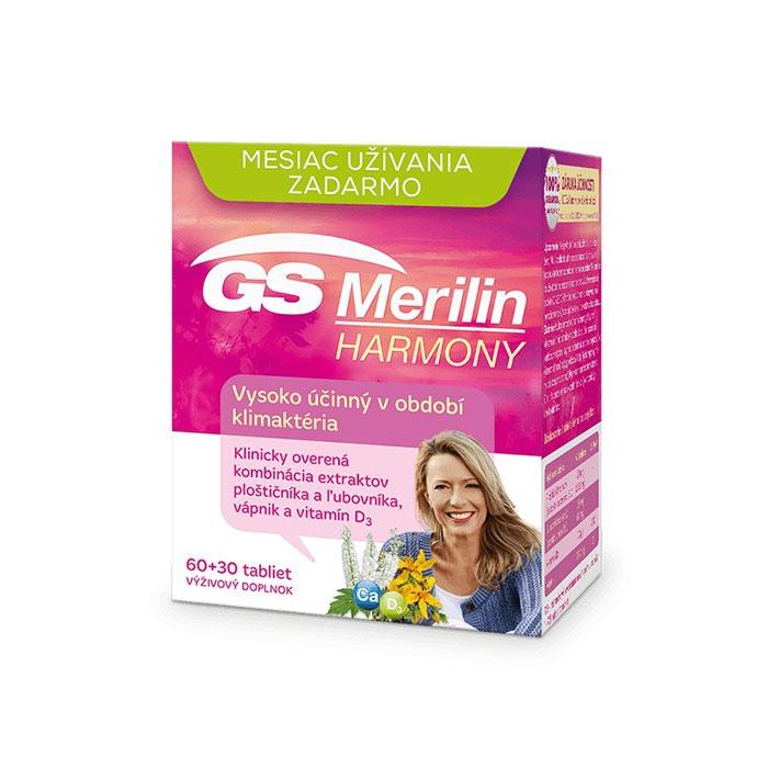 Tpbvsk sinh lý nữ GS Merilin Harmony, Hộp 30 viên