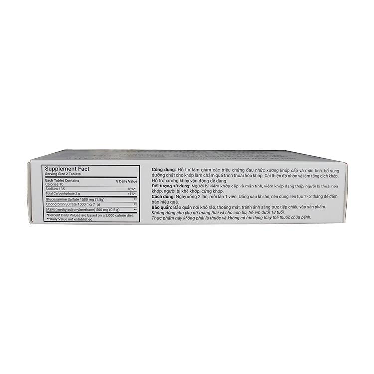 Hadariki Glucosamine 1500mg Chondroitin 1000mg MSM 500mg