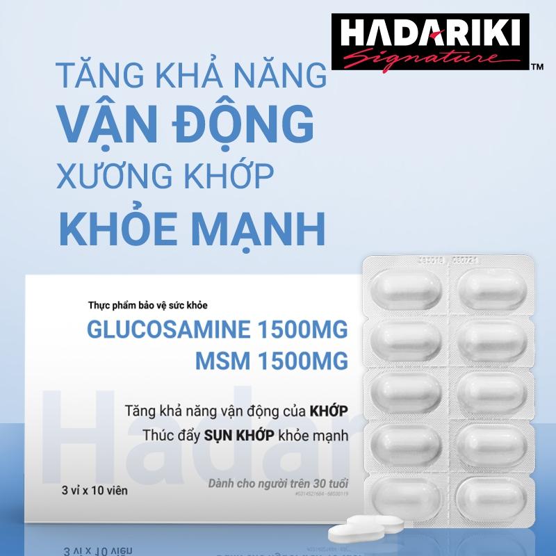 Hadariki Glucosamine 1500mg MSM 1500mg