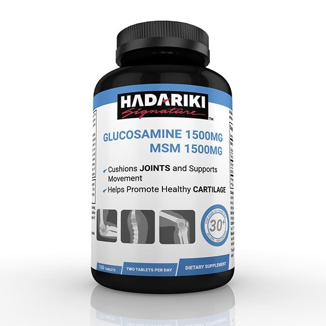 Hadariki Glucosamine 1500mg MSM 1500mg giúp tái tạo và phục phồi chức năng khớp