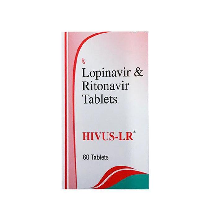 Thuốc HIVUS LR Lopinavir 200mg & Ritonavir 50mg, Hộp 60 viên