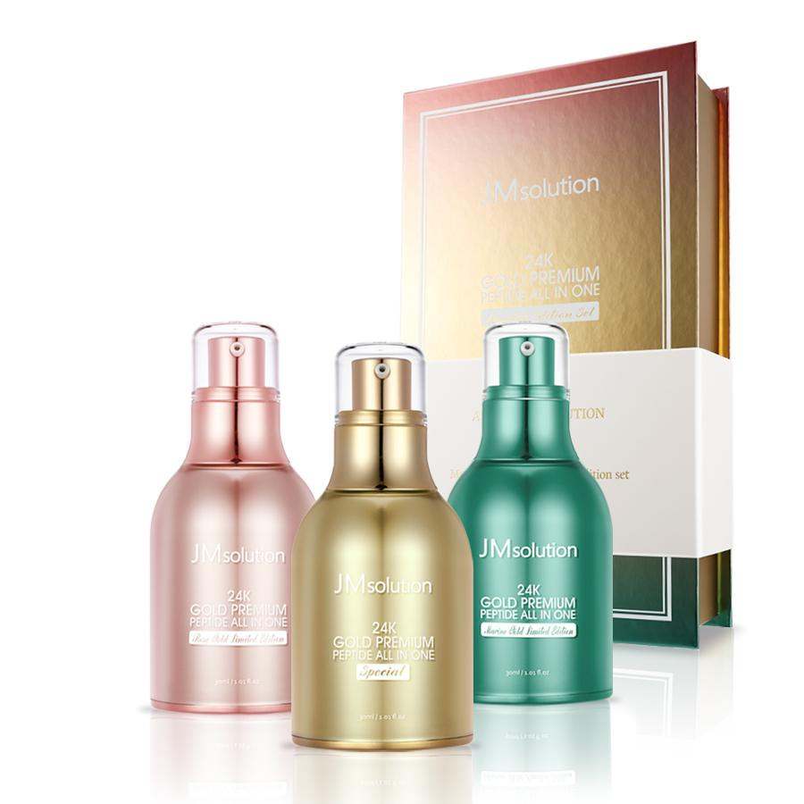 Tinh chất mặt nạ dưỡng da JM Solution 24K Gold Premium Peptide Mask