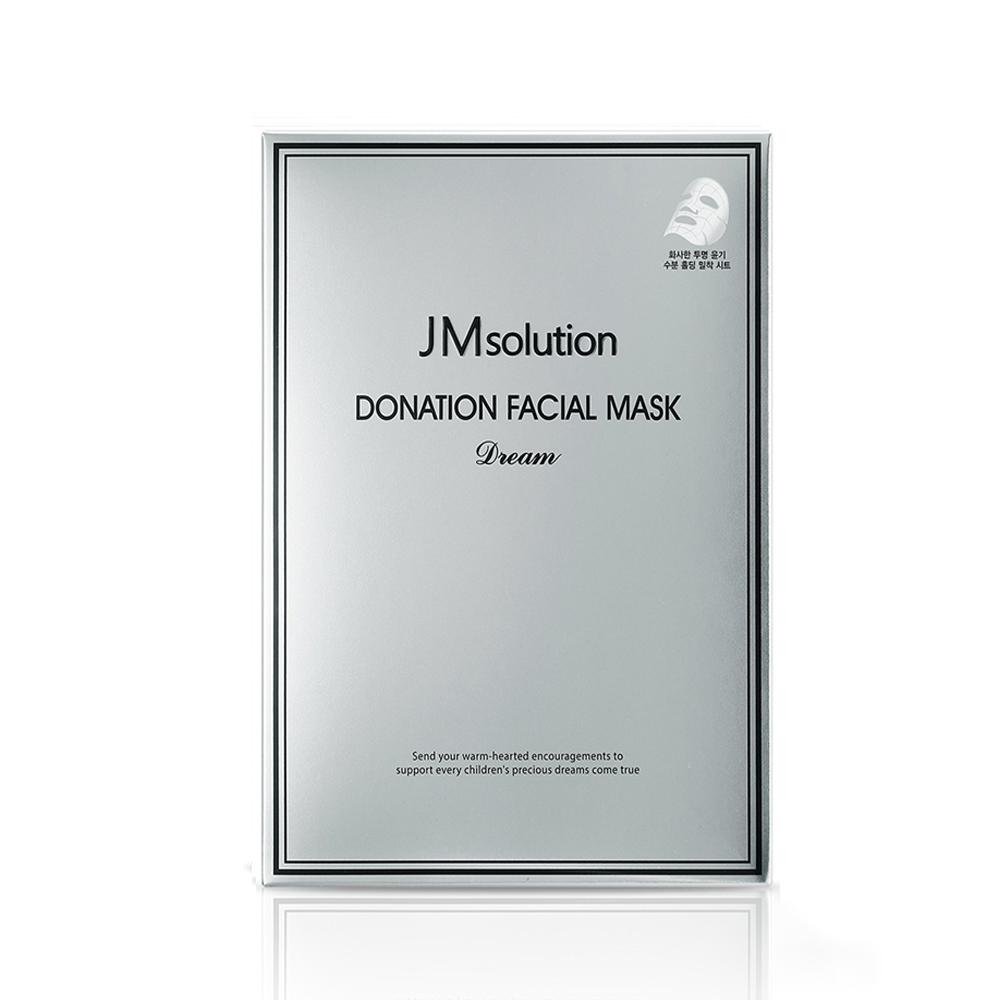 Mặt nạ dưỡng da JM Solution Donation Facial Mask Dream (Hộp 10 miếng 37ml)