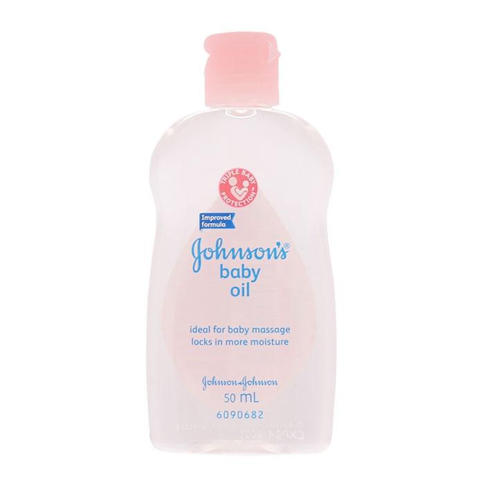 Dầu massage cho bé Johnson's Baby Oil 50ml