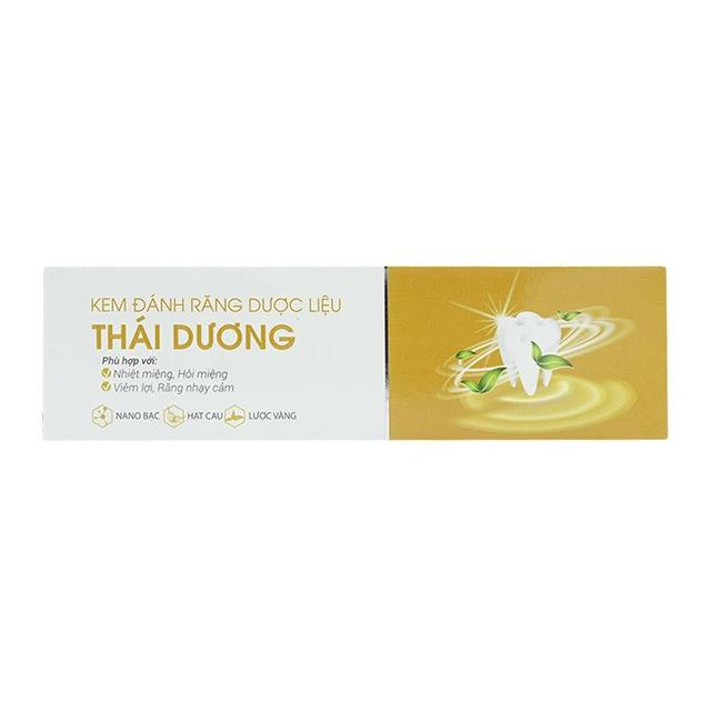 Kem đánh răng dược liệu Thái Dương 20gr