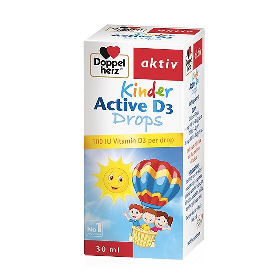 Tpbvsk cho bé  Doppelherz Kinder Active D3 Drops