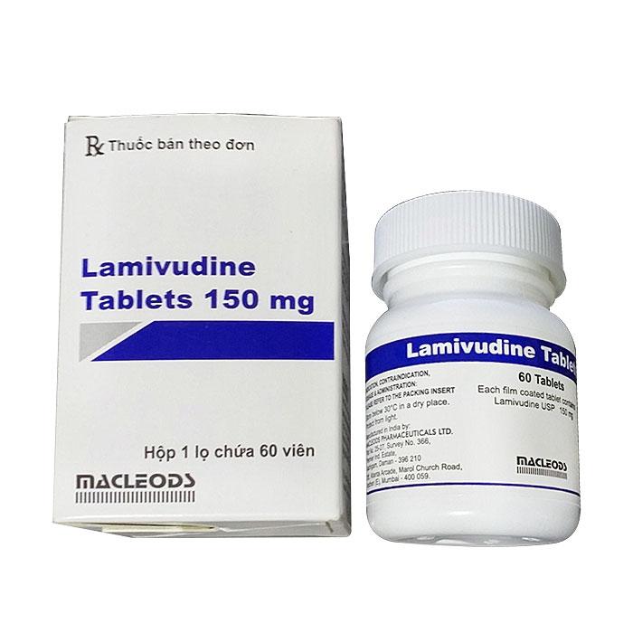 Thuốc Macleods Lamivudine Tablets 150mg, Chai 60 viên ( VN-20797-17 )