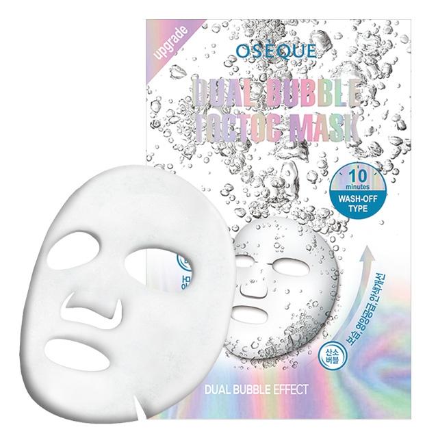 Mặt nạ dưỡng da Oseque Dual Bubble Toctoc Mask 24g