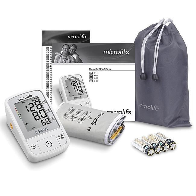 Máy đo huyết áp bắp tay Microlife A2 Basic BP 3GQ1-3P