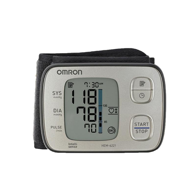 Máy đo huyết áp tự động cổ tay Omron HEM-6221 Cao cấp