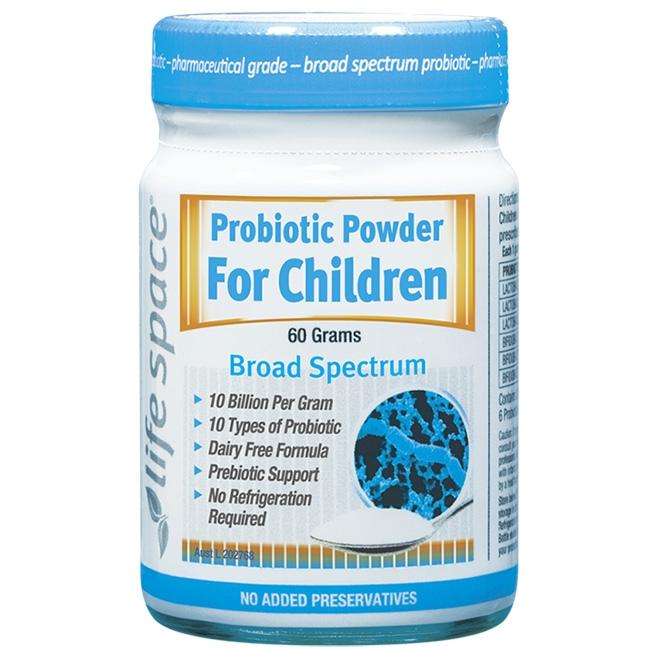 Men vi sinh Life Space Probiotic Powder For Children cho trẻ từ 3 tuổi