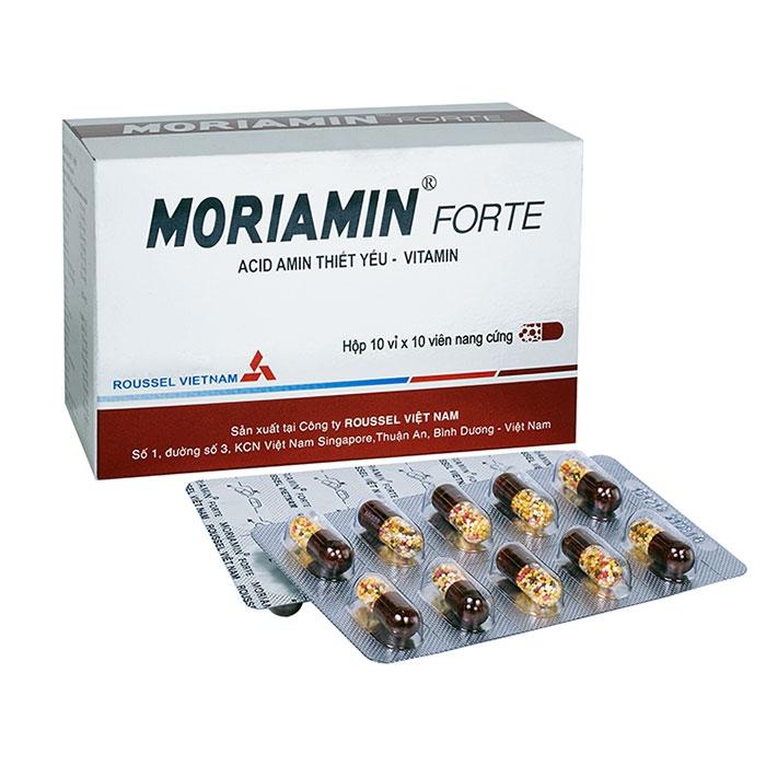 Thuốc Roussel Moriamin Forte, Hộp 100 viên