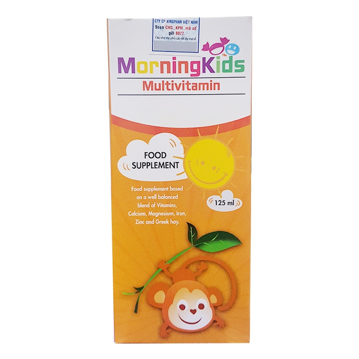 Morningkids Multivitamin 125ml giúp bổ sung Vitamin