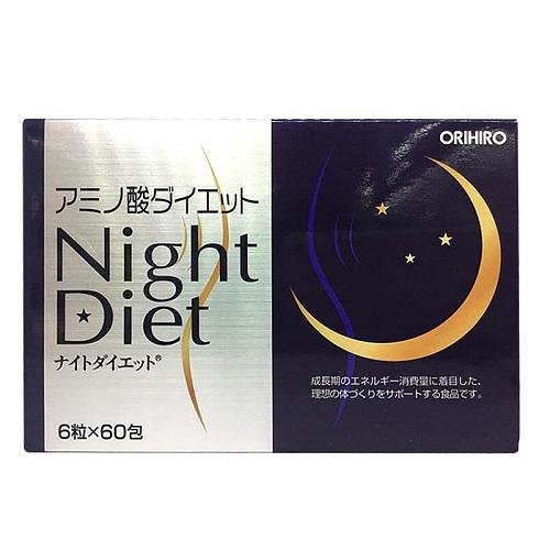 Tpbvsk giảm cân Night Diet Orihiro, Hộp 60 gói